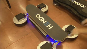 Hendo hoverboard (that really hovers)