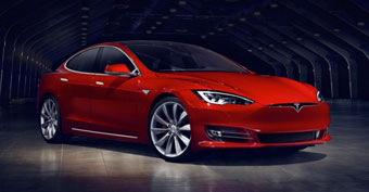 the new (!) Tesla Model S