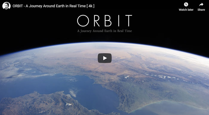 Orbit the Earth for 90 minutes