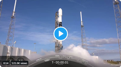 SpaceX: liftoff!