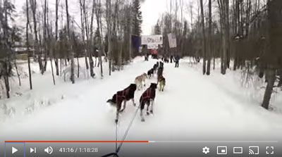 Iditarod: Quince Mountain prestart ride