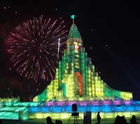 Harbin ice festival (China)