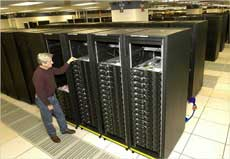IBM RoadRunner supercomputer