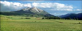 Mount Sopris - high resolution picture