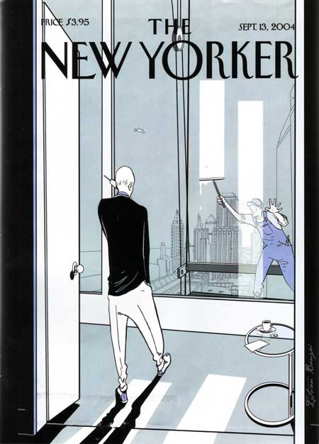 New Yorker cover 9/13/04
