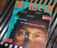 Wired's first issue