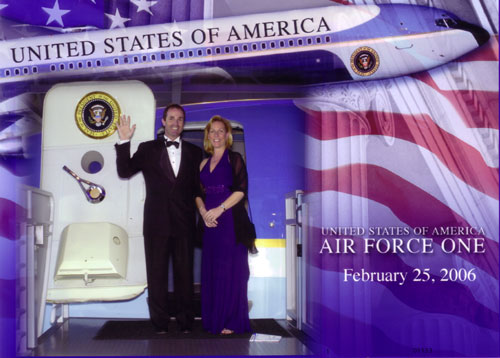 air force one - the First Couple?
