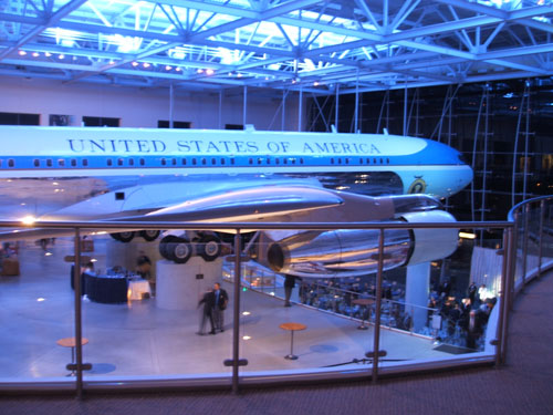 Destination Celebration in the Air Force One pavilion