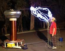 fun with Tesla coils
