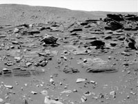 'home plate' on Mars