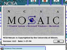 NCSA Mosaic logo - January 1994