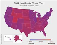 purple haze electoral map
