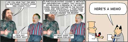 Everybody Loves Eric Raymond - web comic patents